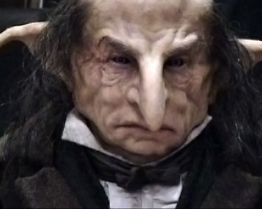 A goblin banker